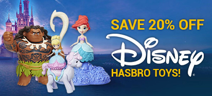 20% off Hasbro Disney Toys!