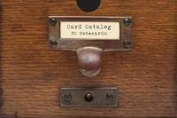 Card Catalog: 30 Notecards by Chronicle Books