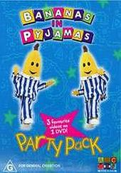 Bananas In Pyjamas - Party Pack (3 On 1) on DVD