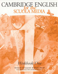 Cambridge English for the Scuola Media 1 Workbook and Workbook Cassette Pack by Andrew Littlejohn image