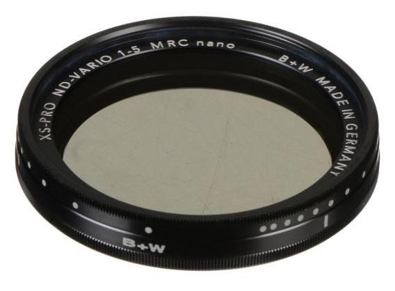 B+W: XS-Pro Digital ND Vario MRC-Nano Filter - 82mm