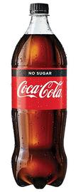 Coke No Sugar Soft Drink 1.5l (8 Pack) image