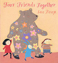Four Friends Together by Sue Heap image