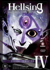 Hellsing - IV on DVD