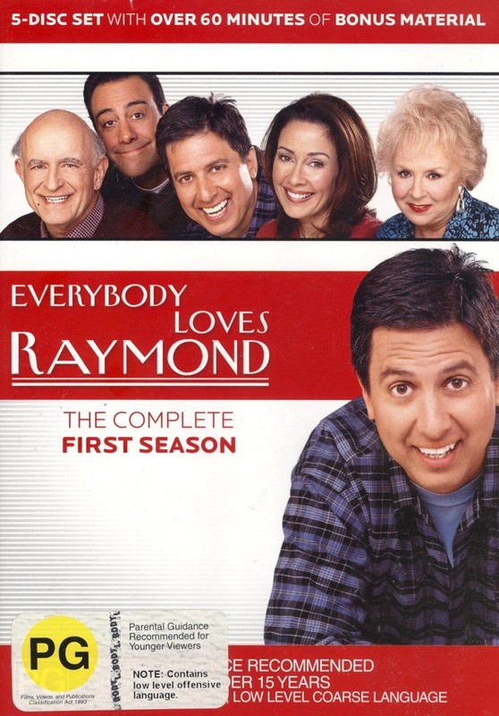 Everybody Loves Raymond - The Complete First Season (5 Disc Box Set) on DVD