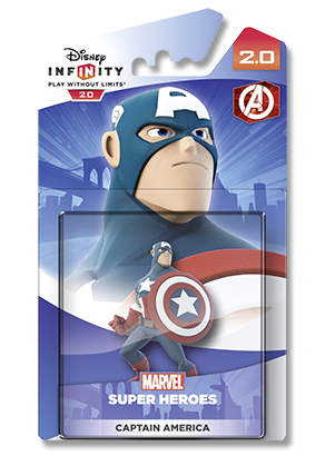 Disney Infinity 2.0: Marvel Super Heroes Figure - Captain America for