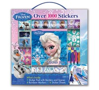 Disney Frozen Sticker Box With Handle