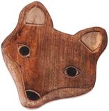 Wooden Fox Teapot Stand