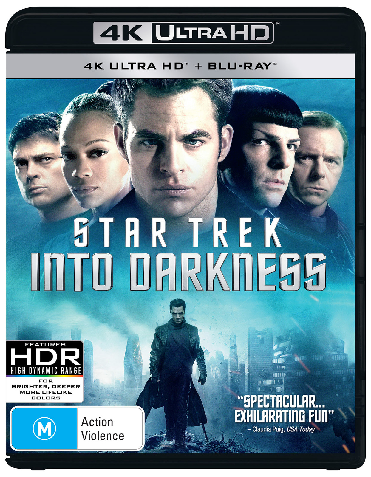Star Trek: Into Darkness on Blu-ray, UHD Blu-ray image