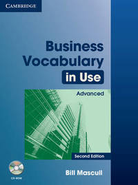 Business Vocabulary in Use: Advanced with Answers and CD-ROM by Bill Mascull image