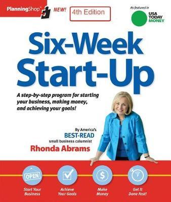 Six-Week Startup by Rhonda Abrams