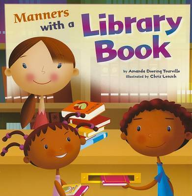 Manners with a Library Book by Amanda Doering Tourville image