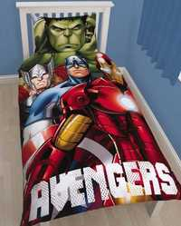 Marvel Avengers Shield Reversible Duvet Set - Single