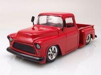 Jada: 1/24 Btk 1955 Chevy Stepside – Diecast Model (Red)