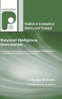 Beyond Religious Discourse by J N Dickson image