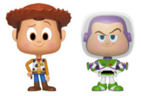 Toy Story: Woody + Buzz - Vynl. Figure 2-Pack
