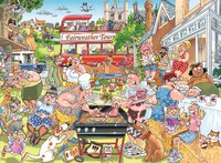Wasgij: 1000 Piece Puzzle - Mystery #15 (A Typical British BBQ!)