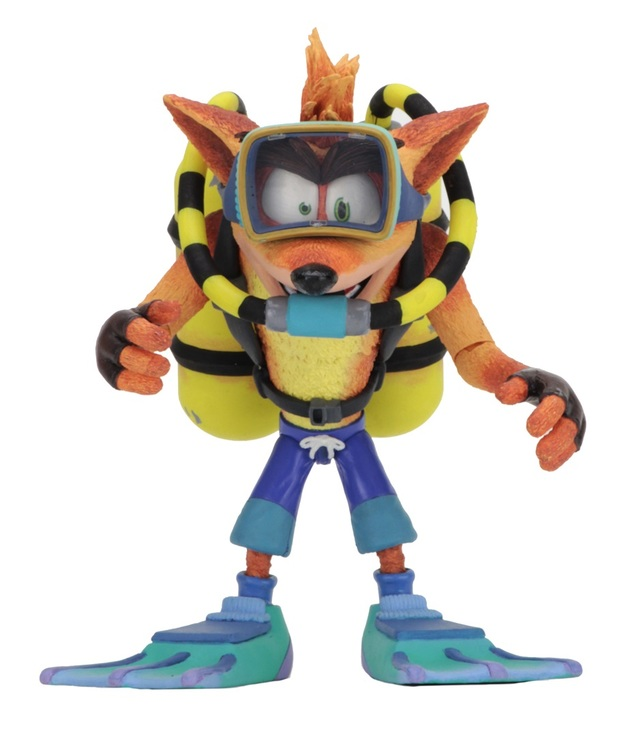 "Crash Bandicoot: Scuba Crash - 7"" Deluxe Action Figure"