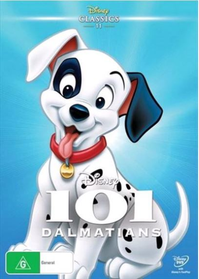 101 Dalmatians on DVD