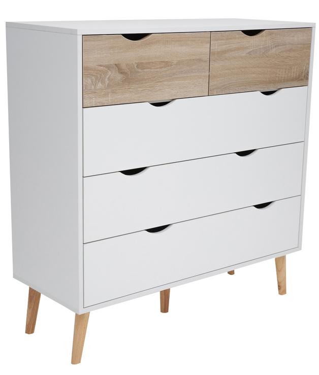 Tallboy 5 Drawer Chest Dresser