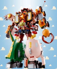 Toy Story Chogokin Woody Robo Sheriff Star