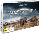 Amazing Africa Collector's Set on DVD