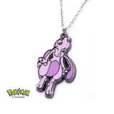 Pokemon Mewtwo Enamel Necklace