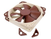 120mm Noctua NF-F12 4-pin PWM, 1500/1200rpm Max, Focused Flow System image