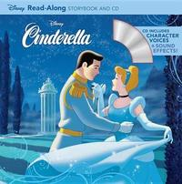 Cinderella Read-Along Storybook and CD by Disney Book Group