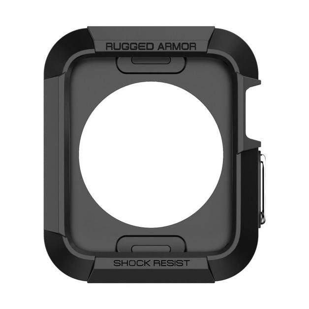 Spigen: Apple Watch - Rugged Armour Case (Black)
