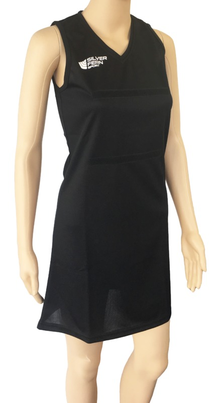 Silver Fern: Netball Dress - Small (Black)