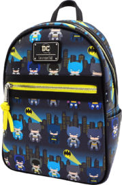 Loungefly: Batman - Gotham City Chibi Print Mini Backpack image