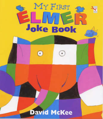 My First Elmer Joke Book by David McKee image