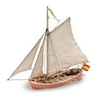 Artesania Latina Longboat San Juan Nepomuceno Lifeboat 1:35 Wooden Model Kit + Starter Kit