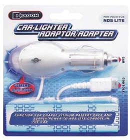 Car-Lighter Adapter for Nintendo DS