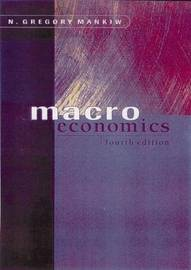 Macroeconomics by N Gregory Mankiw image