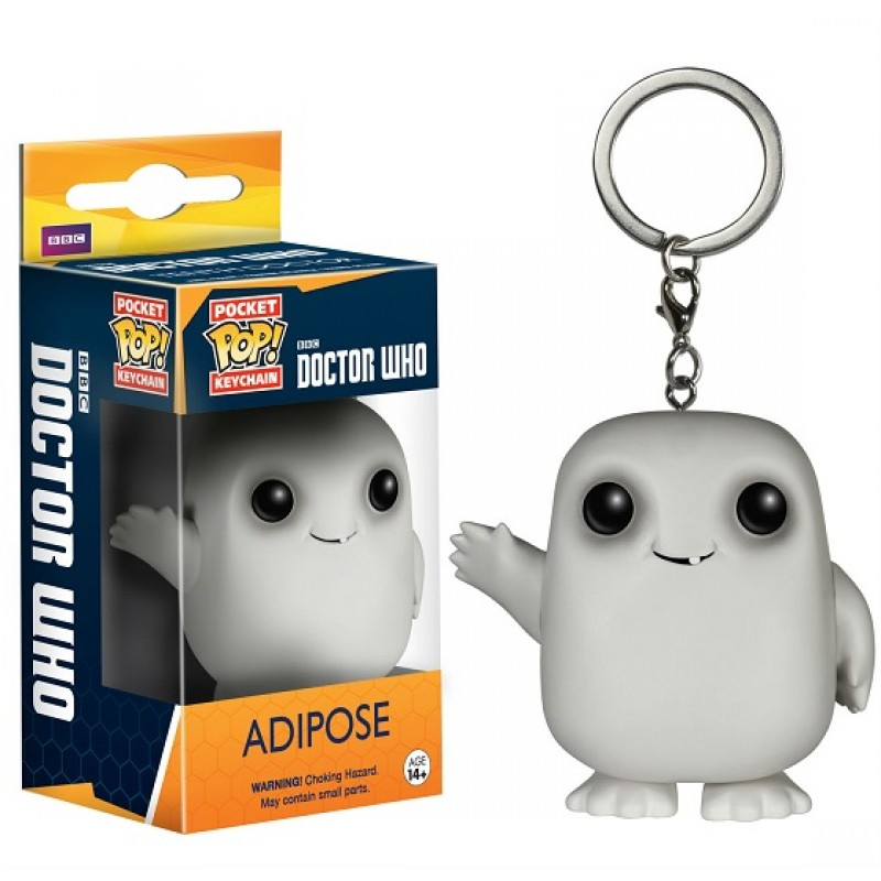 Doctor Who - Adipose Pop! Keychain image