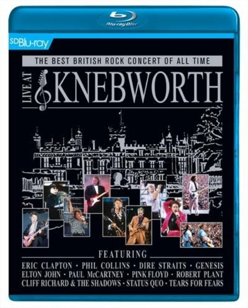 Best British Rock Concert of all Time Live At Knebworth on Blu-ray image