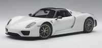 Autoart: 1/18 Porsche 918 Spyder Weissach Package - Diecast Model