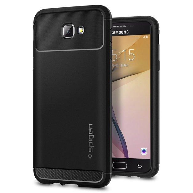 Spigen: Galaxy J5 Prime/On5 - Rugged Armour Case (Black)