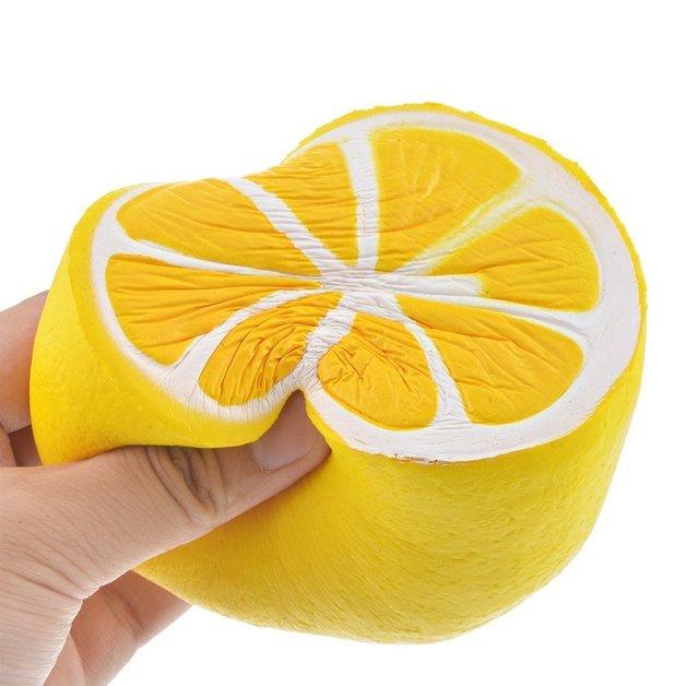 I Love Squishy: Lemon Squishie Toy (10cm)