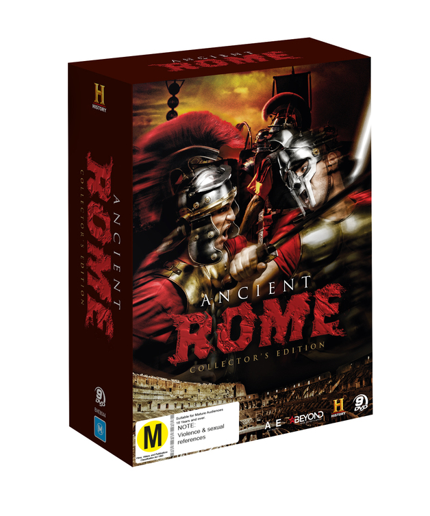 Ancient Rome Collector's Edition on DVD