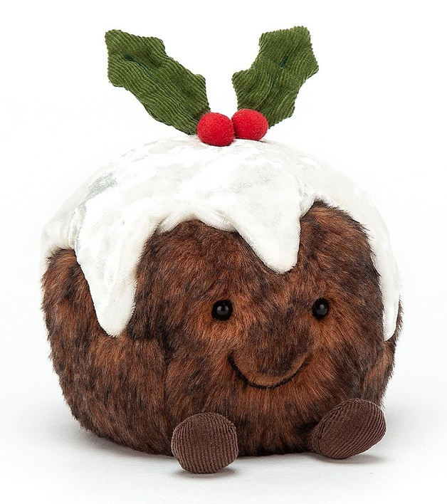 Jellycat: Amuseable Christmas Pudding - Small Plush