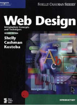 Web Design: Introductory Concepts and Techniques by Gary B Shelly image