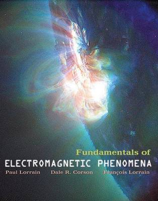 Fundamentals of Electromagnetic Phenomena by Paul Lorrain image