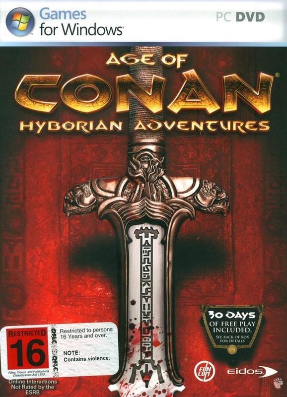 Age of Conan - Hyborian Adventures (U.S. Version) for PC Games