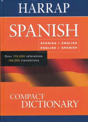 Spanish Compact Dictionary: Espainol-Inglaes, English-Spanish