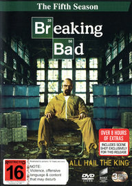 Breaking Bad - The Fifth Season on DVD