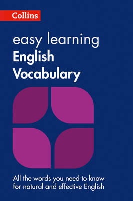 Easy Learning English Vocabulary by Collins Dictionaries image