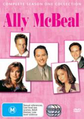 Ally McBeal - Complete Season 1 (6 Disc Slimline Set) on DVD